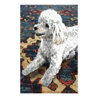 Poodle Stationery