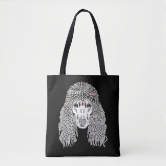 Poodle Tote Bag (You can Customize)