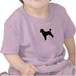 Poodle (Toy, Lamb Cut) T-shirts