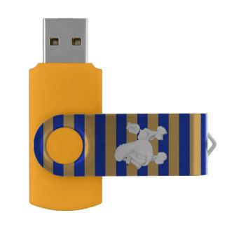 Poodle USB Flash Drive Swivel USB 2.0 Flash Drive
