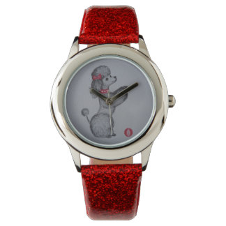 Poodle - vintage style watch