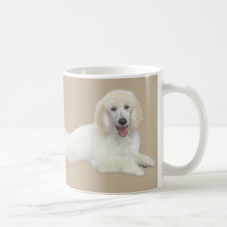 Poodle White Beautiful Mug