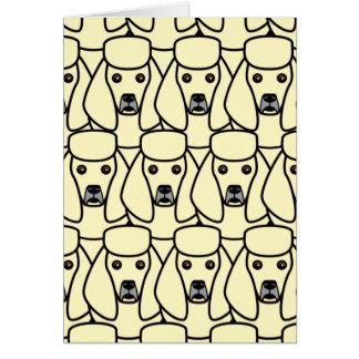 Poodles Card