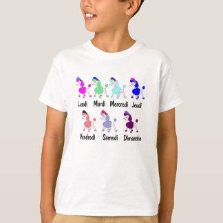poodles days of week T-Shirt