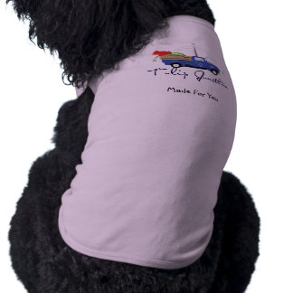 Poodle's Sleeveless Dog Shirt