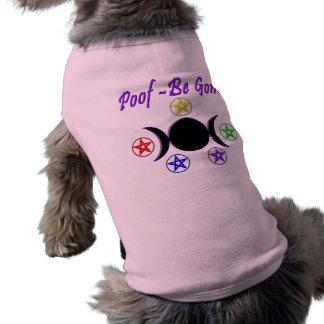 Poof - Be Gone Sleeveless Dog Shirt