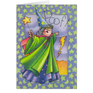 Poof You re older Greeting Card