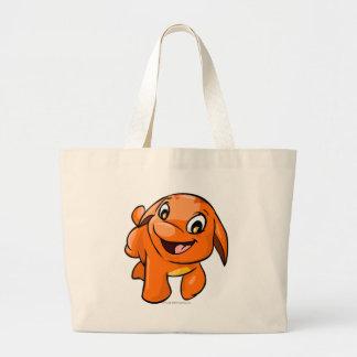 Poogle Orange Jumbo Tote Bag