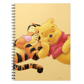 Pooh and Tigger Spiral Note Books