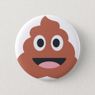 Pooh emoji 6 cm round badge