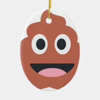 Pooh Twitter Emoji Ceramic Ornament