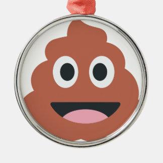 Pooh Twitter Emoji Metal Ornament