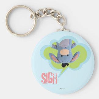 Pook-a-Looz Eeyore 3 Basic Round Button Key Ring