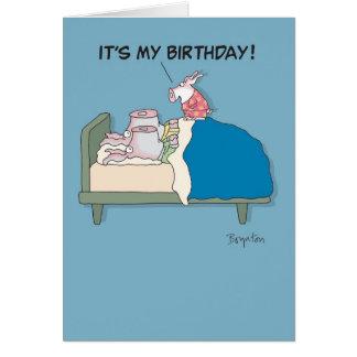 POOKIE BIRTHDAY GREETING CARD