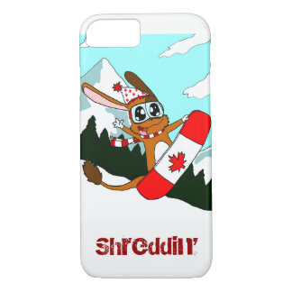 Pookie Snowboarding Phone Case