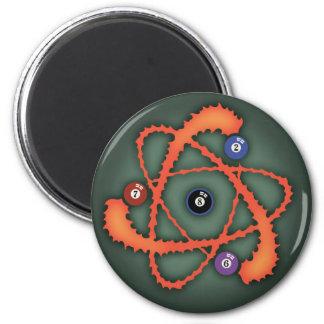 Pool Atom II 6 Cm Round Magnet