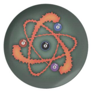 Pool Atom II Plate