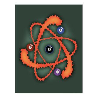 Pool Atom II Postcard