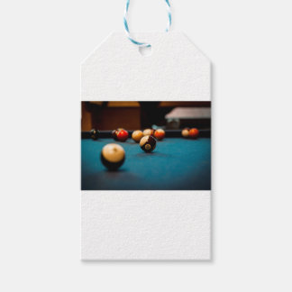 Pool Ball Table Gift Tags