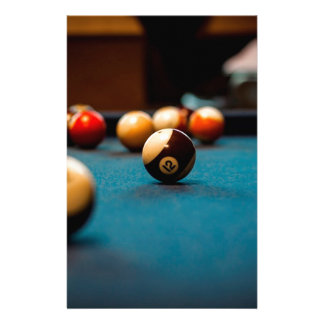 Pool Ball Table Stationery