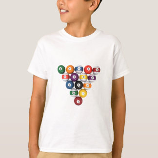 Pool Balls / Billiards: 3D Model: Shirts