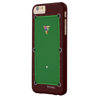 Pool Billiard Table Barely There iPhone 6 Plus Case
