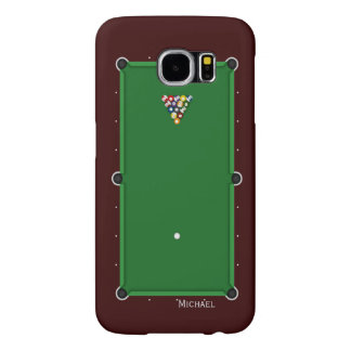 Pool Billiard Table Samsung Galaxy S6 Cases