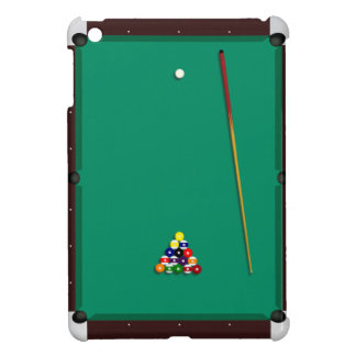 Pool billiards table case iPad mini covers