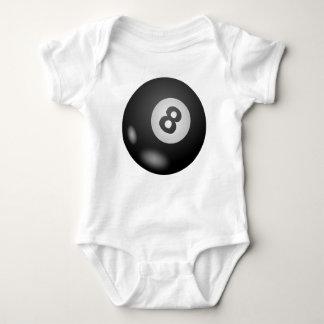 Pool Eight Ball Baby Bodysuit