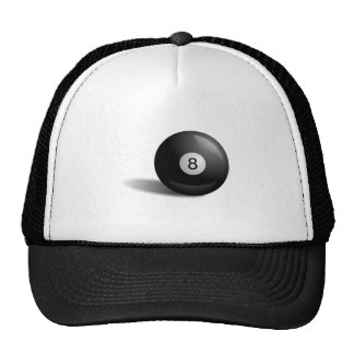 Pool Eight Ball Cap