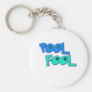 Pool Fool Key Ring