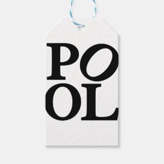 pool gift tags