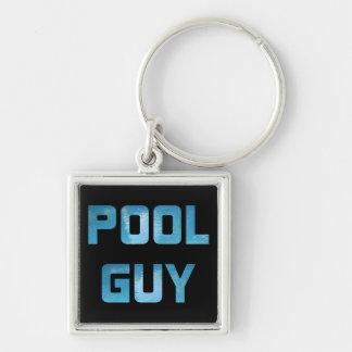 Pool Guy Key Ring