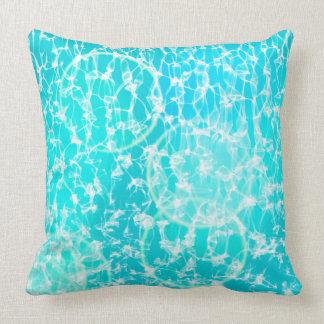 Pool light background cushion