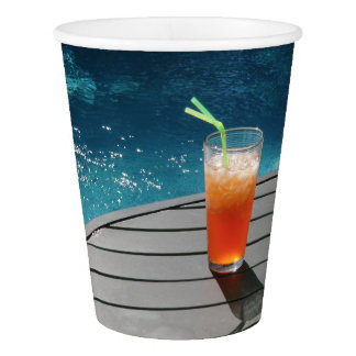 Pool Party Paper Cup