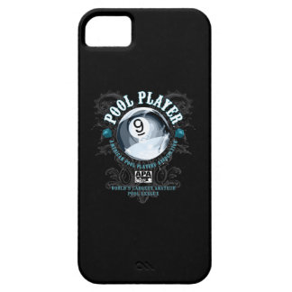 Pool Player Filigree 9-Ball Barely There iPhone 5 Case
