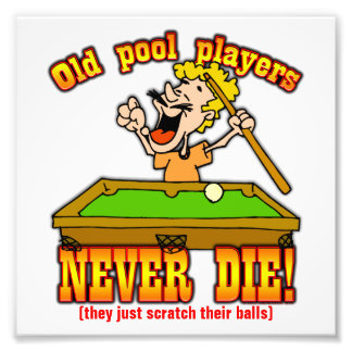 Pool Players Art Photo