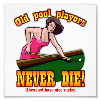 Pool Players Photographic Print