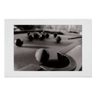 Pool Shot Poster