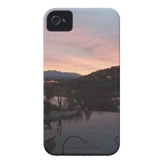 Pool Side Sunrise iPhone 4 Cover