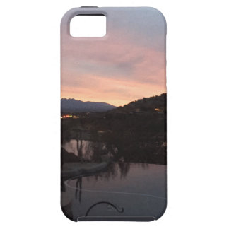 Pool Side Sunrise iPhone 5 Case