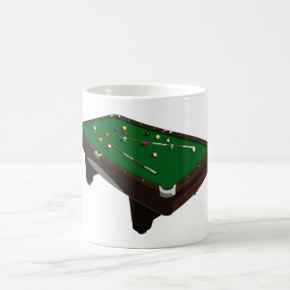 Pool Table Coffee Mug