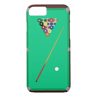 Pool Table iPhone 7 Case