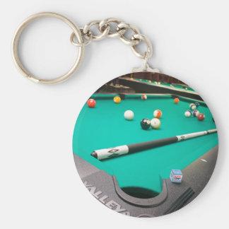 Pool Table Key Ring