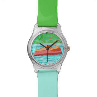 Pool Time Unicorn Watch