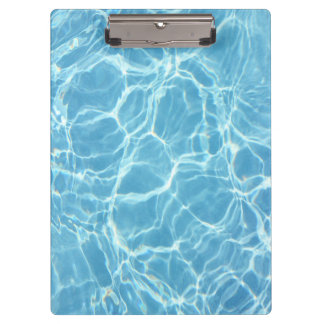 Pool Water Clipboard