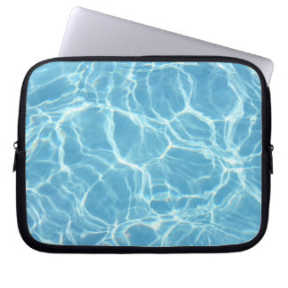 Pool Water Laptop Bag