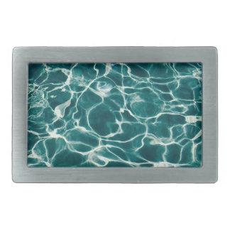 Pool water pattern belt buckle