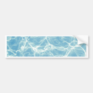 Pool Water, Pool, Swim, Summer Bumper Sticker