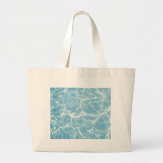 Pool Water, Pool, Swim, Summer Large Tote Bag